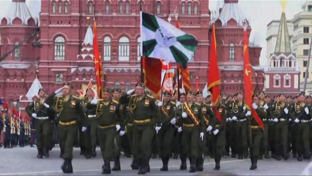 俄國為勝利日閱兵最後綵排