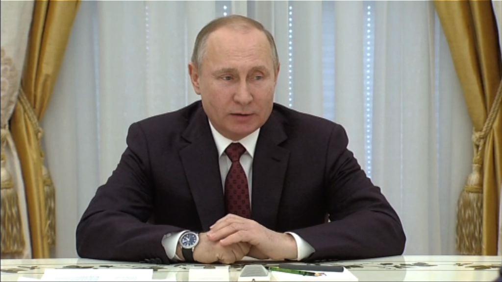 普京:無意跟西方國家軍備競賽