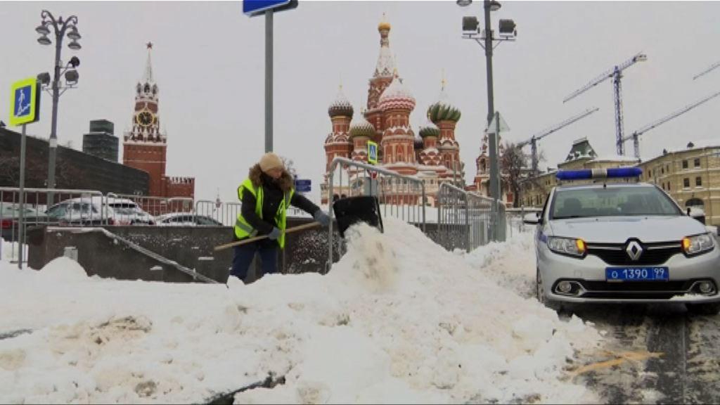 俄羅斯大雪陸空交通受影響