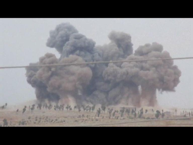 俄軍第二日於敘利亞發動空襲