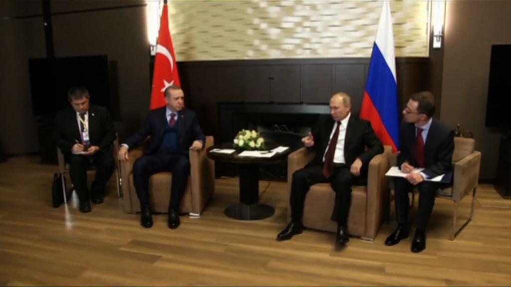 土俄同意以政治手段解決敘衝突