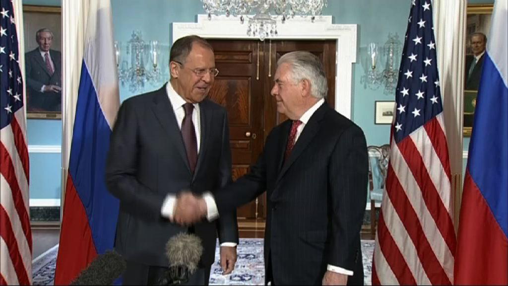 俄外長拉夫羅夫訪美與蒂勒森會晤