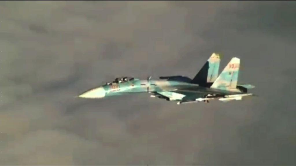 美軍指俄戰機危險攔截美偵察機