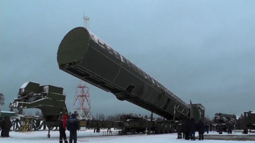 俄羅斯稱新型導彈可攻擊任何地方
