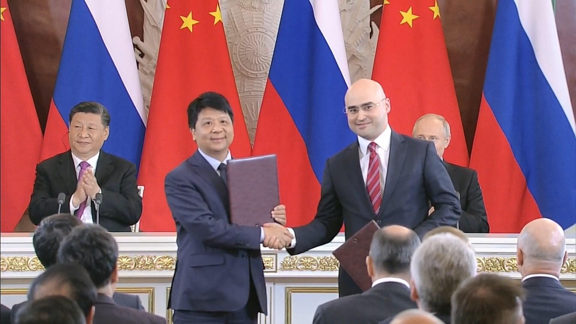 華為與俄大型電訊公司簽約開發5G網絡