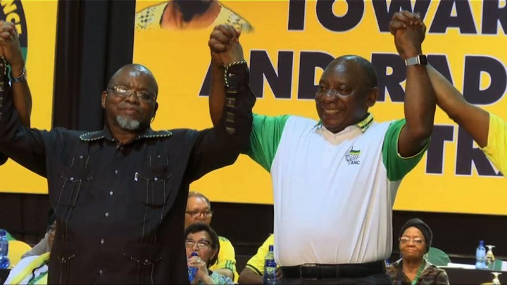 拉馬福薩當選非洲人國民大會主席