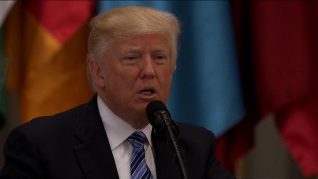 特朗普:對付恐怖主義是正邪之戰