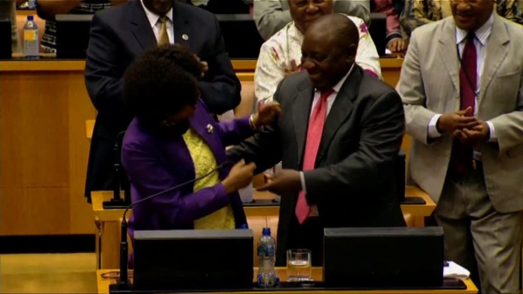 南非國會選出拉馬福薩接任總統