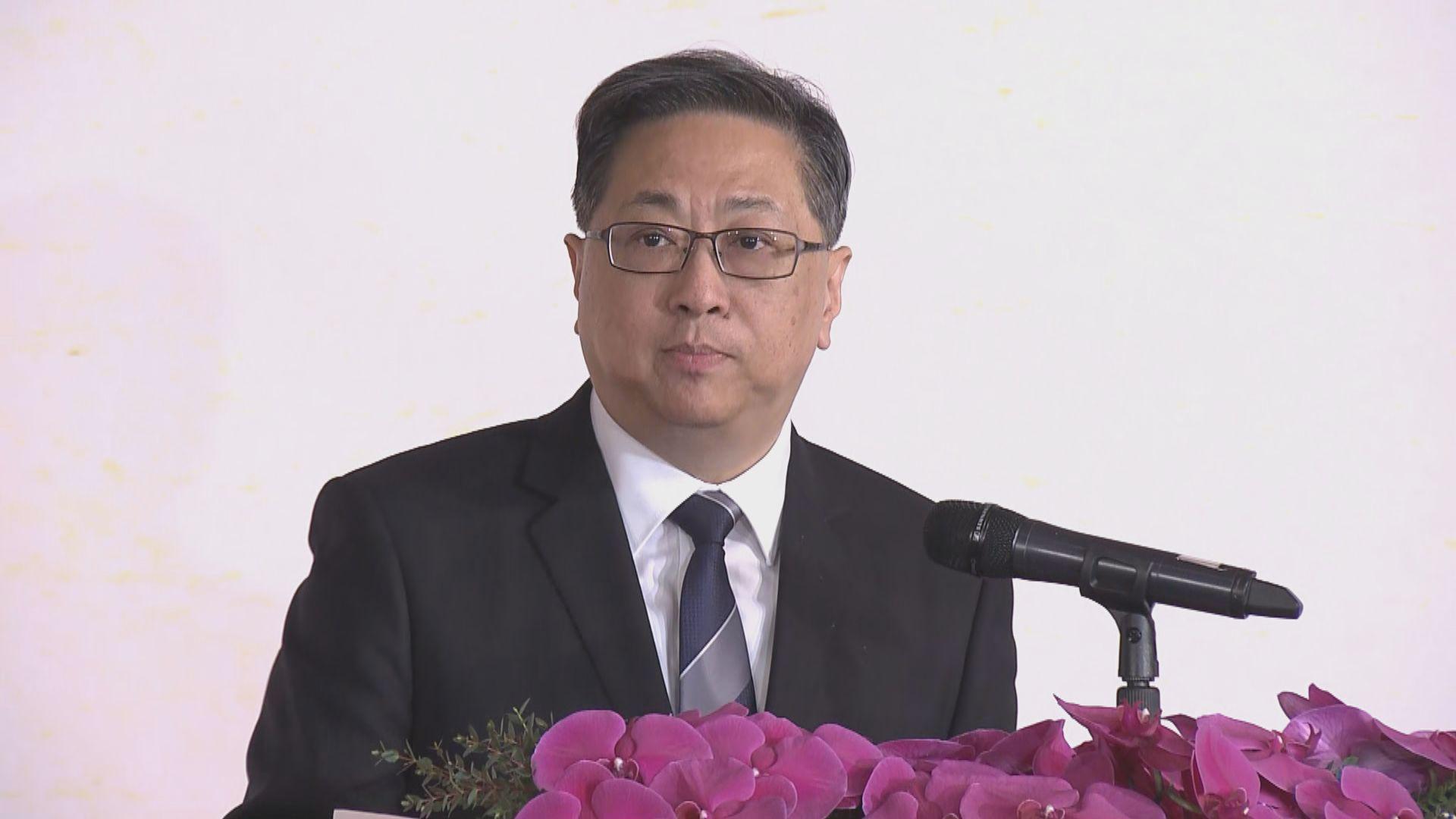 盧偉聰:港獨致社會內部不穩 影響社會安寧