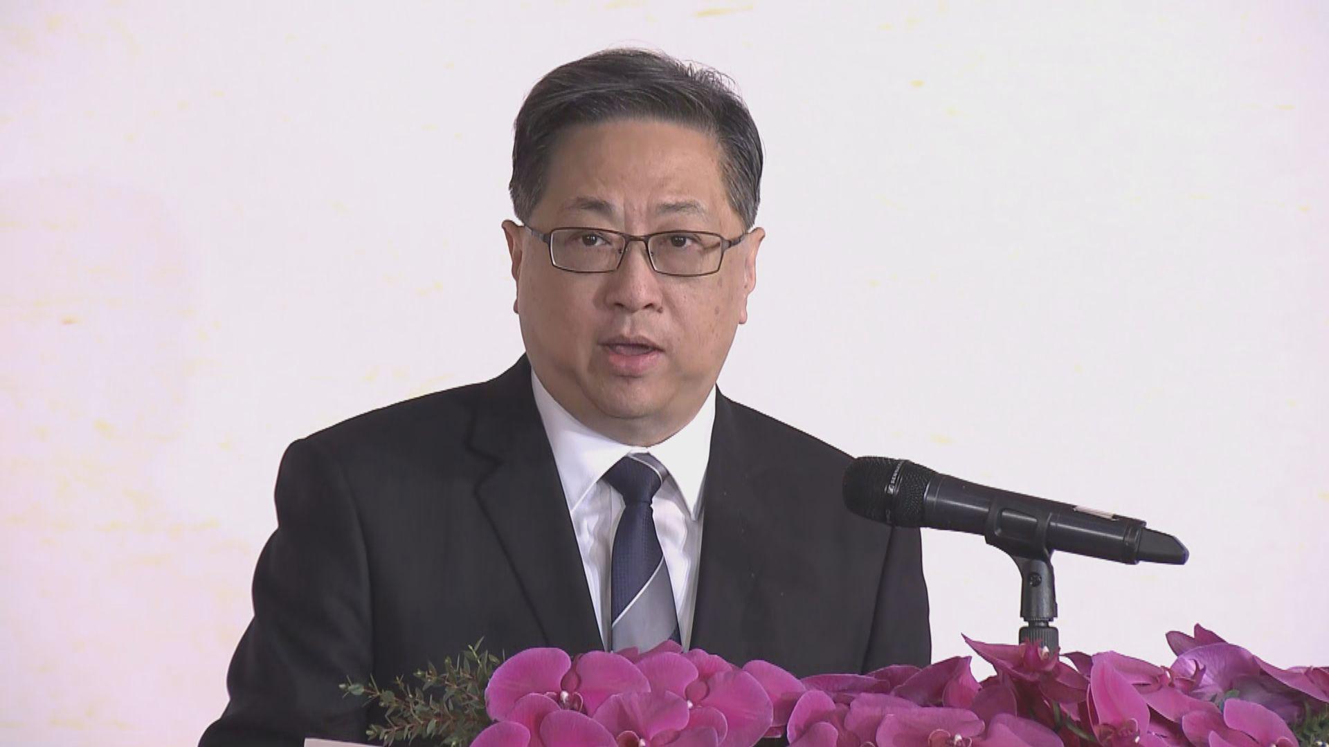 盧偉聰:對港獨行為必定果斷執法
