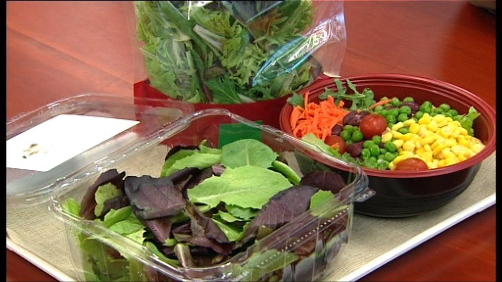 食安中心抽驗沙律菜 一樣本含菌量超標