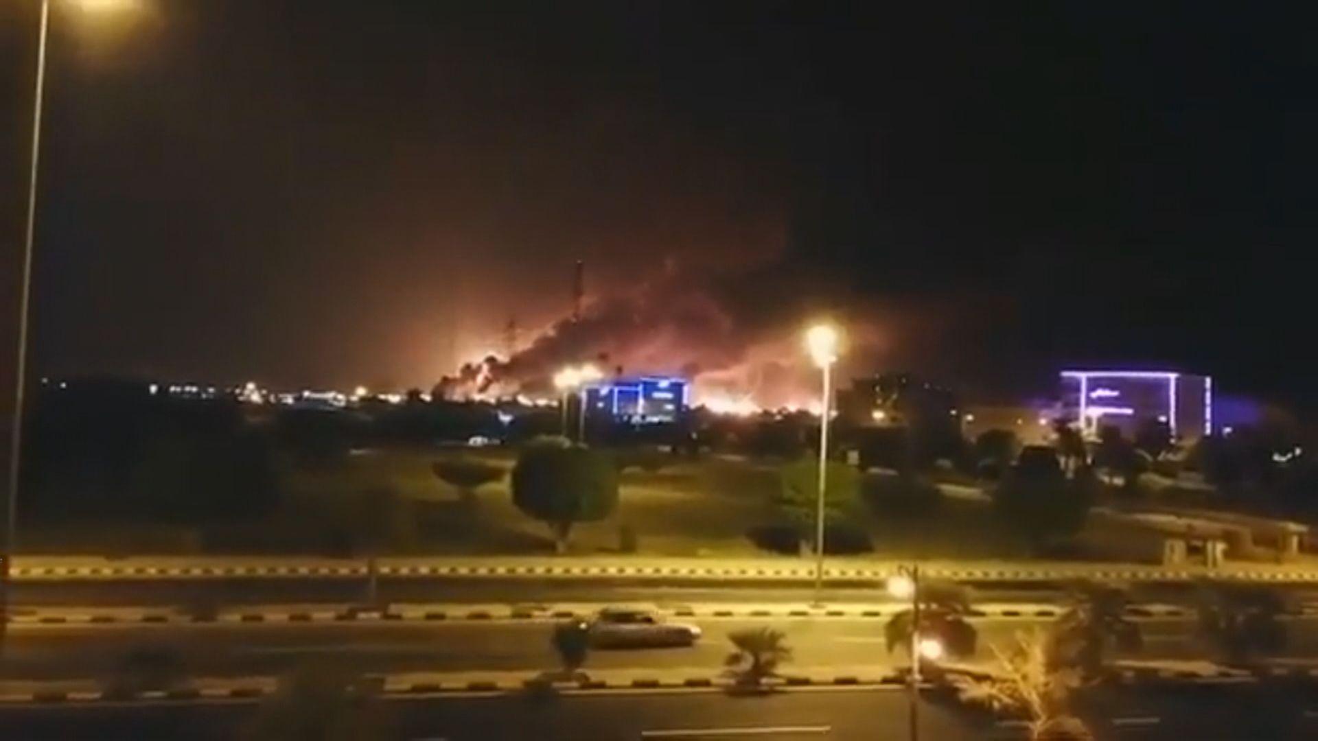 沙特煉油廠遭胡塞武裝無人機襲擊