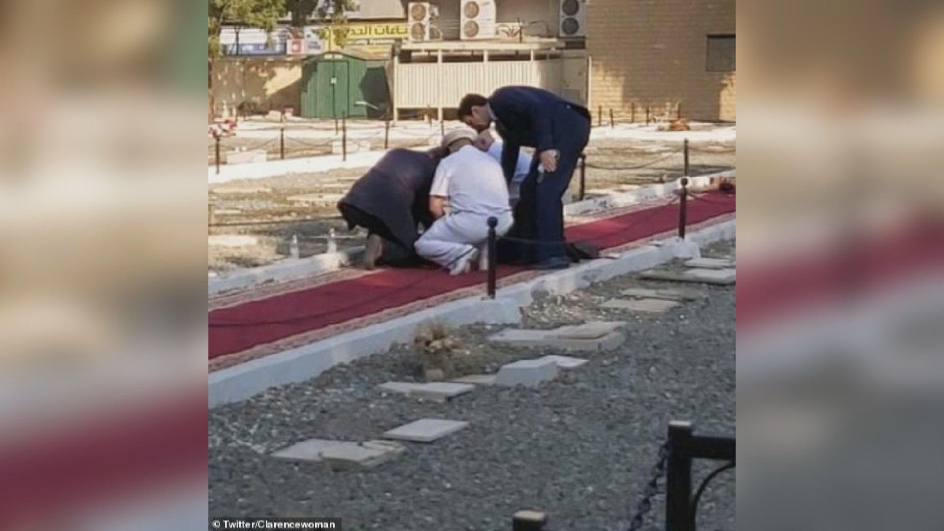 法、英等外交人員於沙特出席一戰紀念儀式時發生爆炸