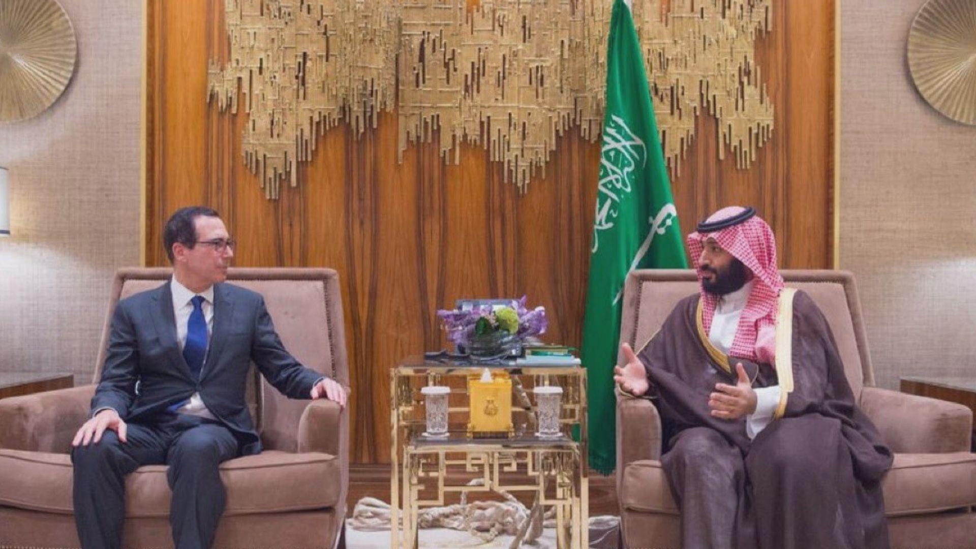沙特王儲重申美沙戰略夥伴關係重要性
