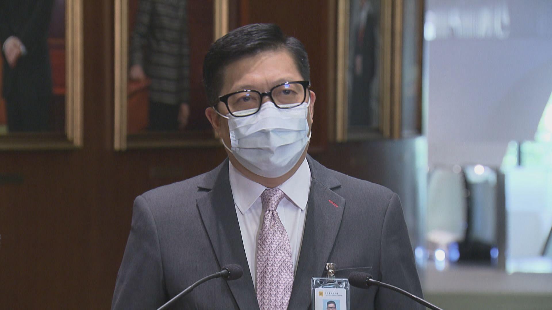 鄧炳強:三高官飯局不涉利益衝突及人情債等