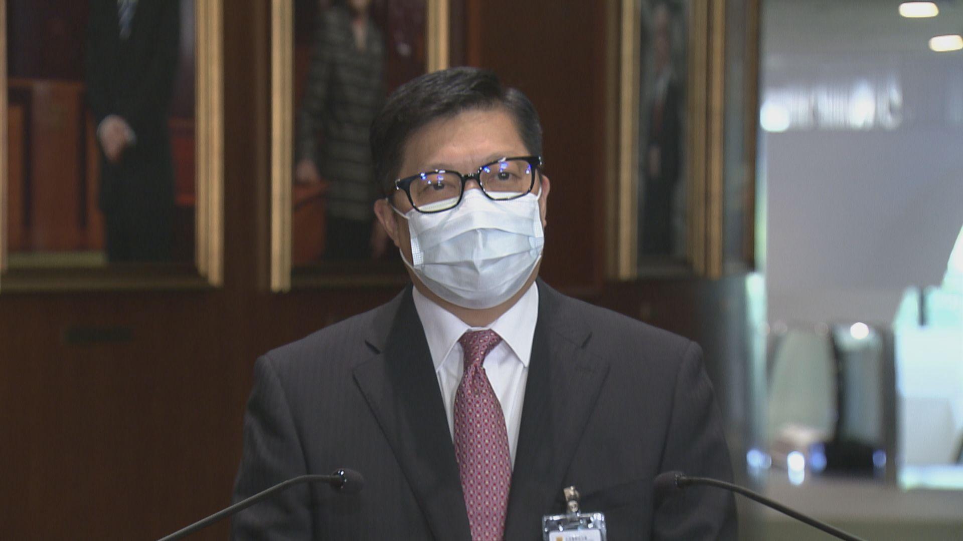 鄧炳強:組織自行解散減社會遺害 惟罪行不會勾銷