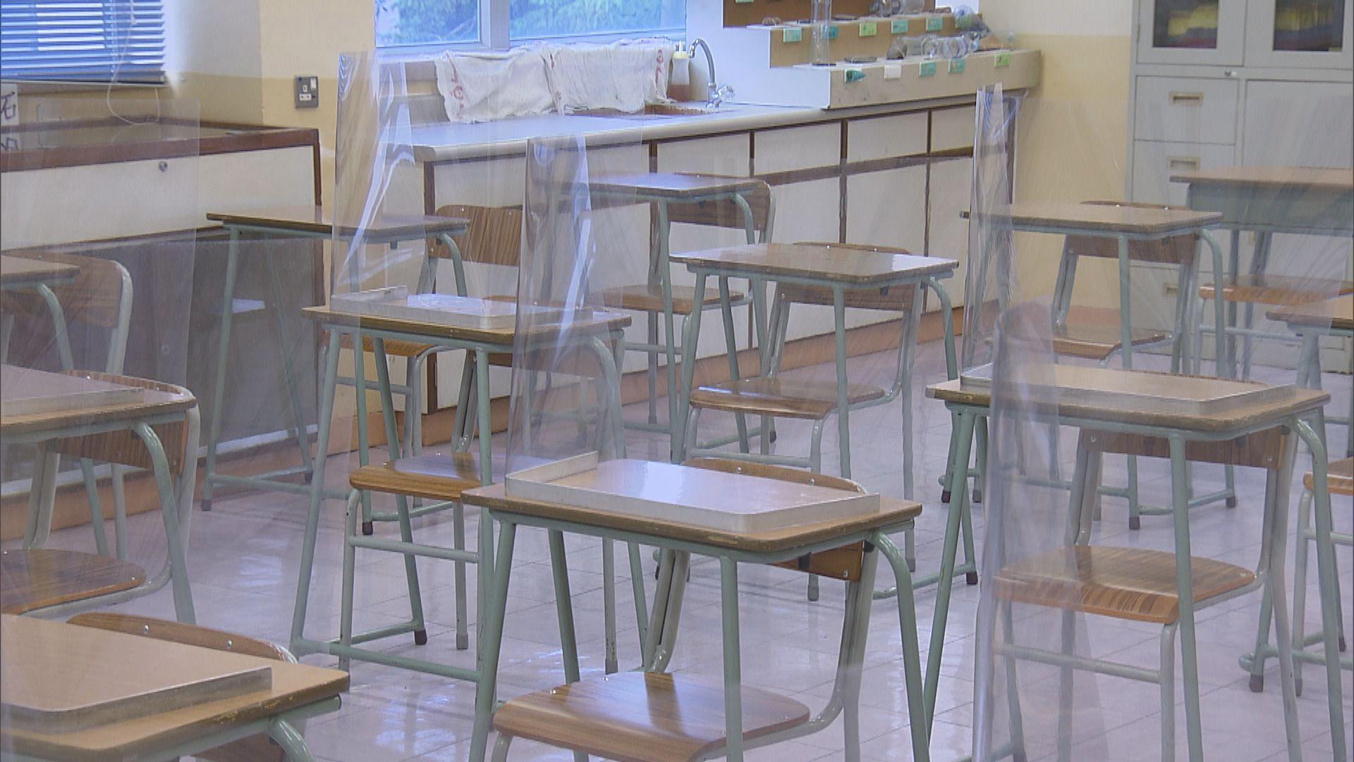 中學為復課做準備 冀中六生率先全面復課