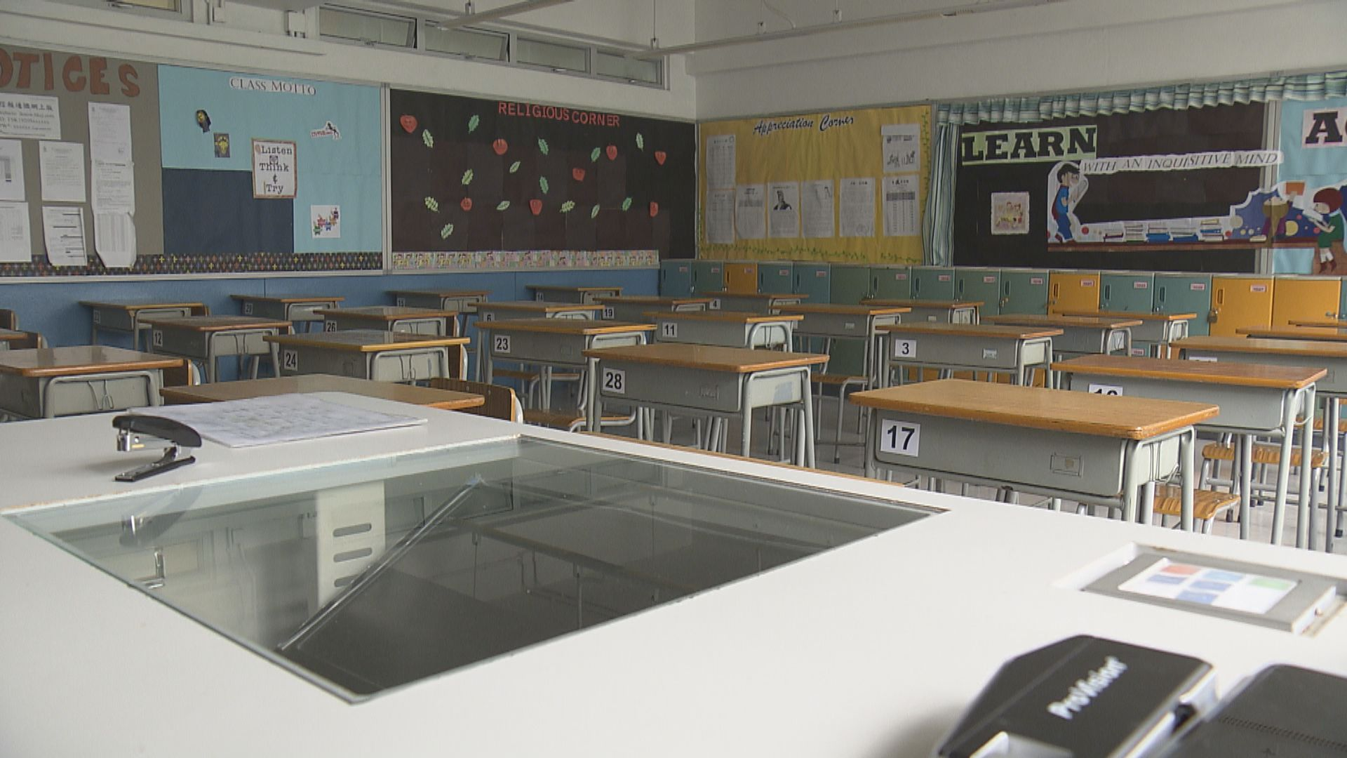 有小學校長指與政府達成共識 一、五、六年級最先復課