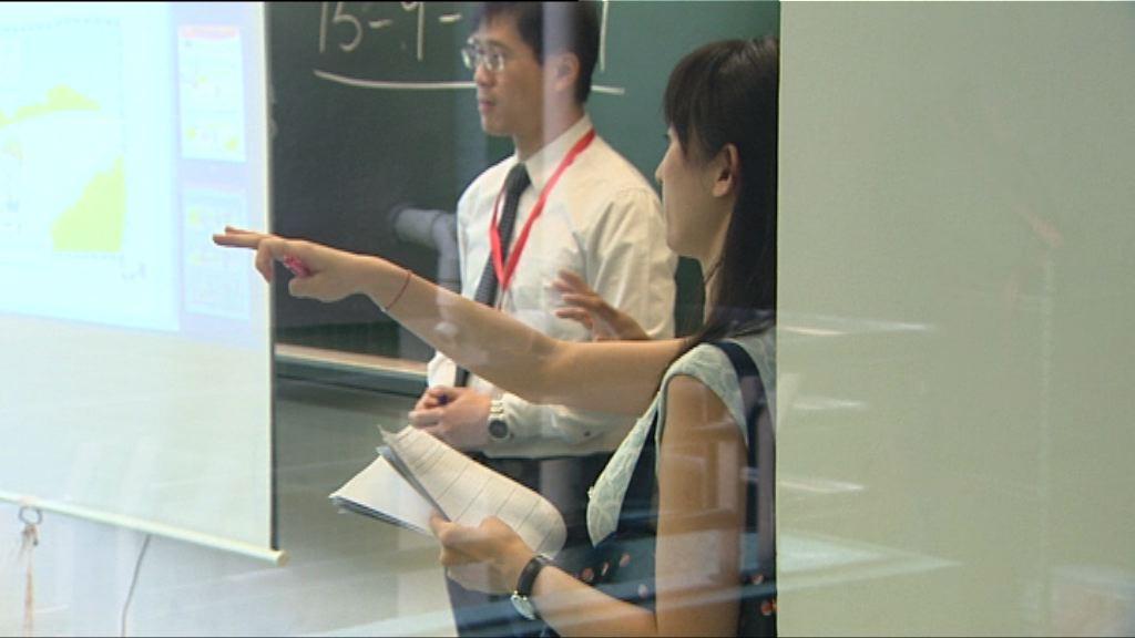 教育局分區到訪15%至25%學校點人數