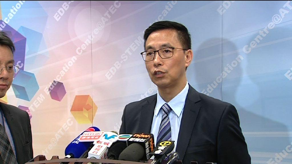 楊潤雄:學校是否轉播李飛演講無施壓成分