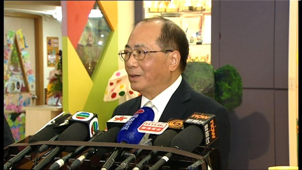 吳克儉:無再收到香港凱莉山辦學申請