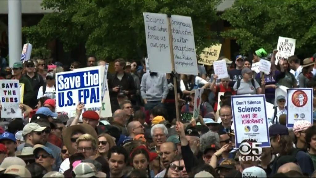 全球逾六百城市遊行籲關注科研