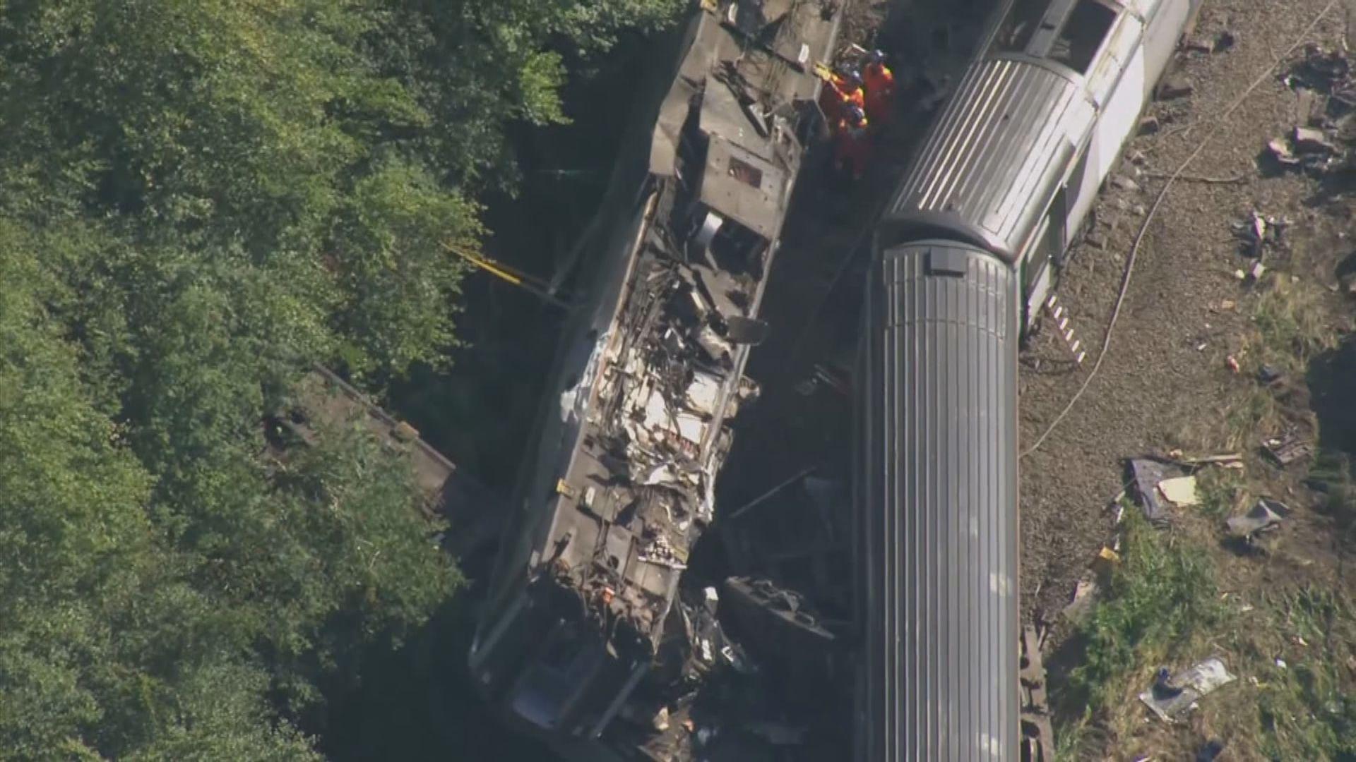 蘇格蘭載客列車出軌三死六傷