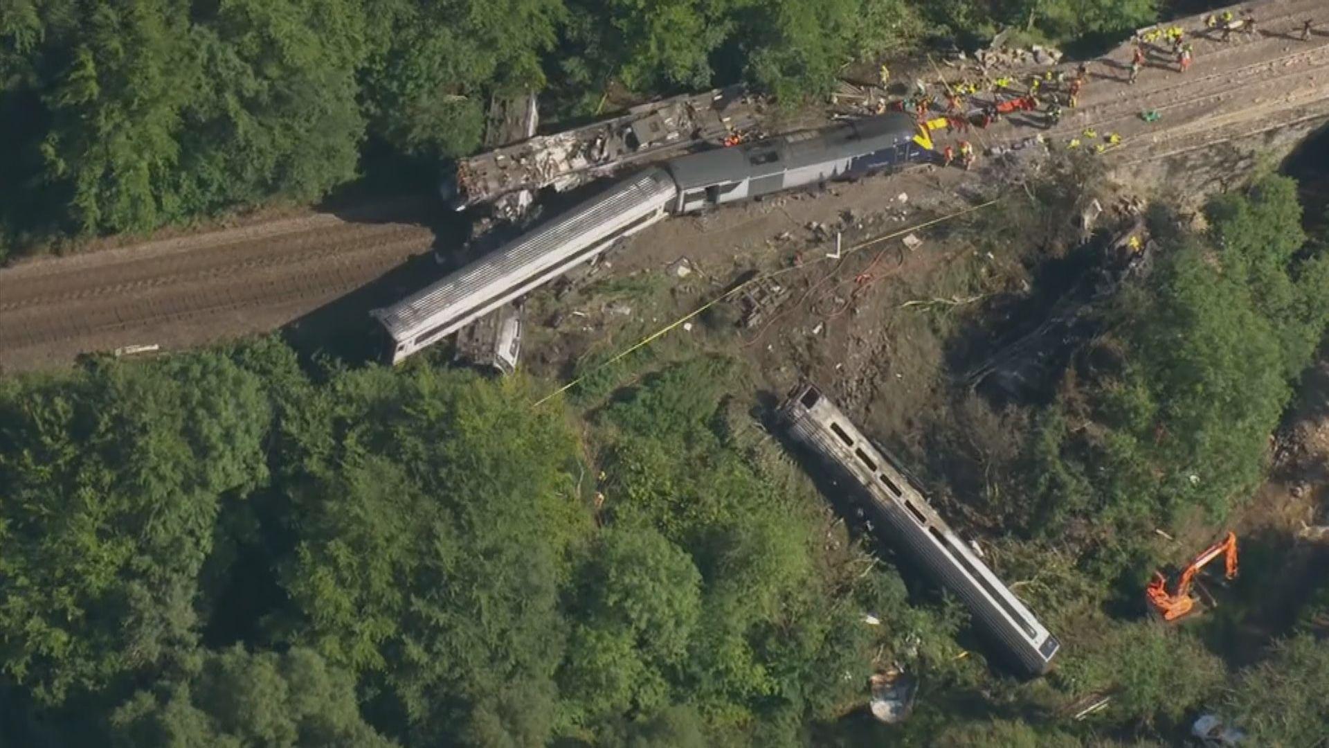 蘇格蘭列車出軌 英首相約翰遜表示會徹查事故原因