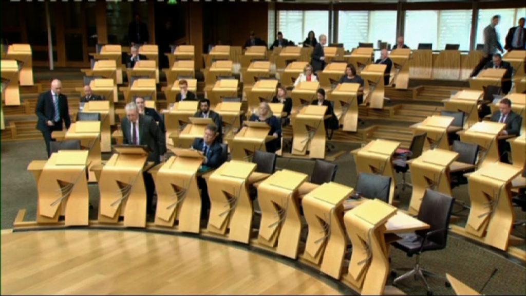 蘇格蘭議會辯論獨立公投動議