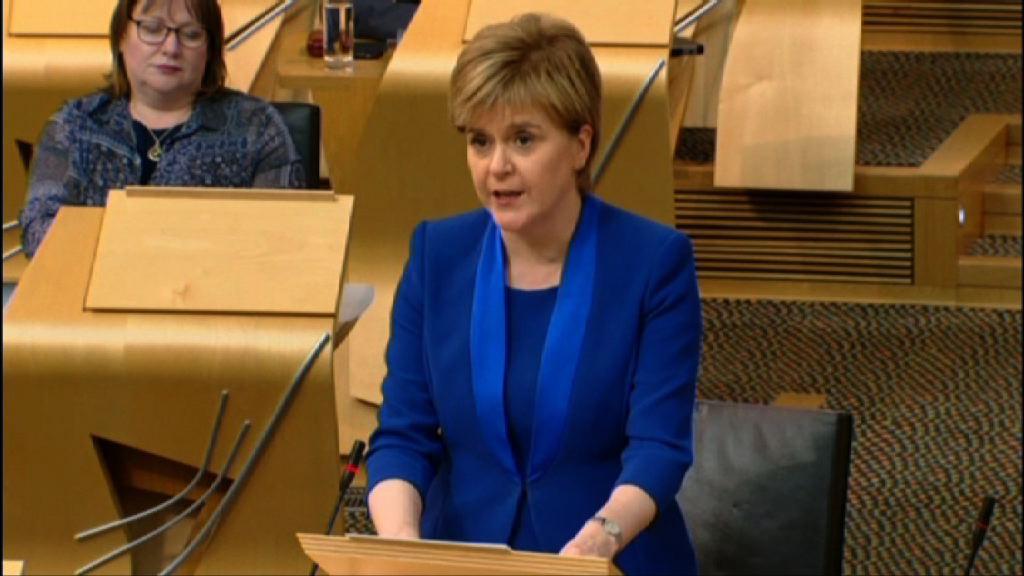 蘇格蘭暫停要求再舉行獨立公投