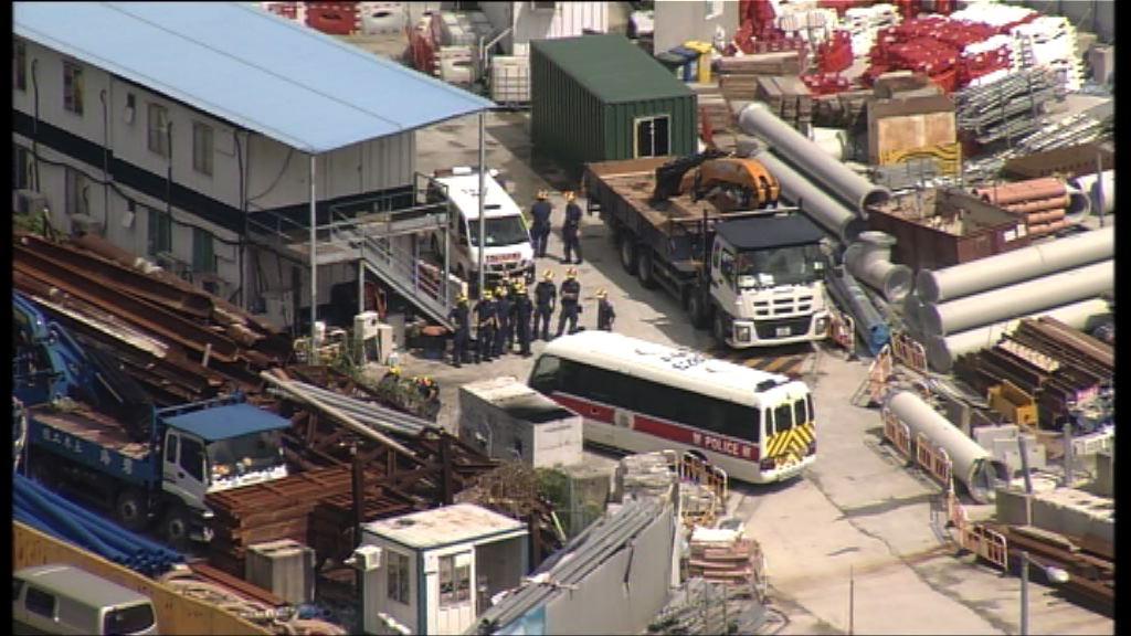 習近平周四訪港 警方續在灣仔作保安檢查