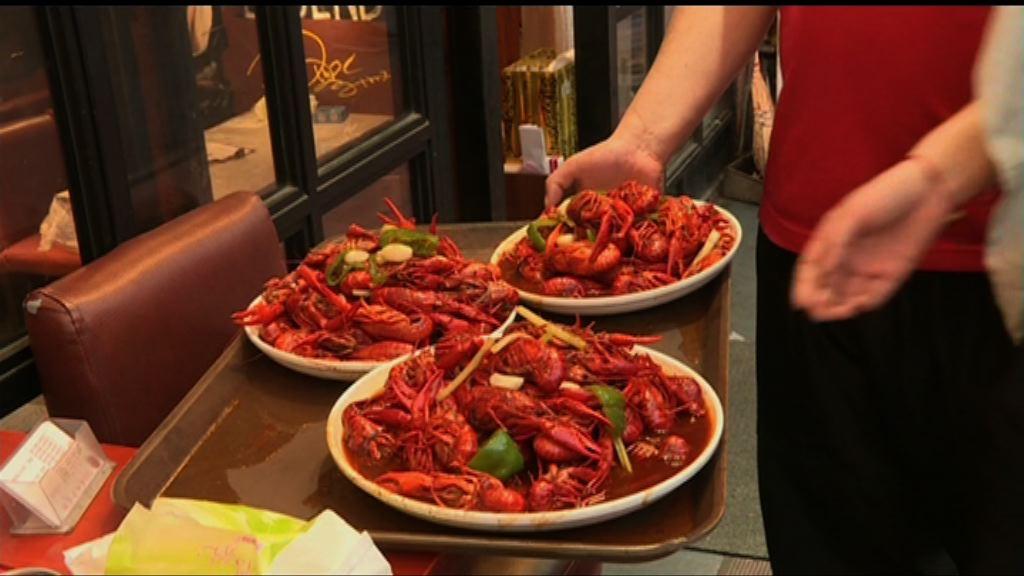 小龍蝦行業競爭激烈 旺季營業額不如前