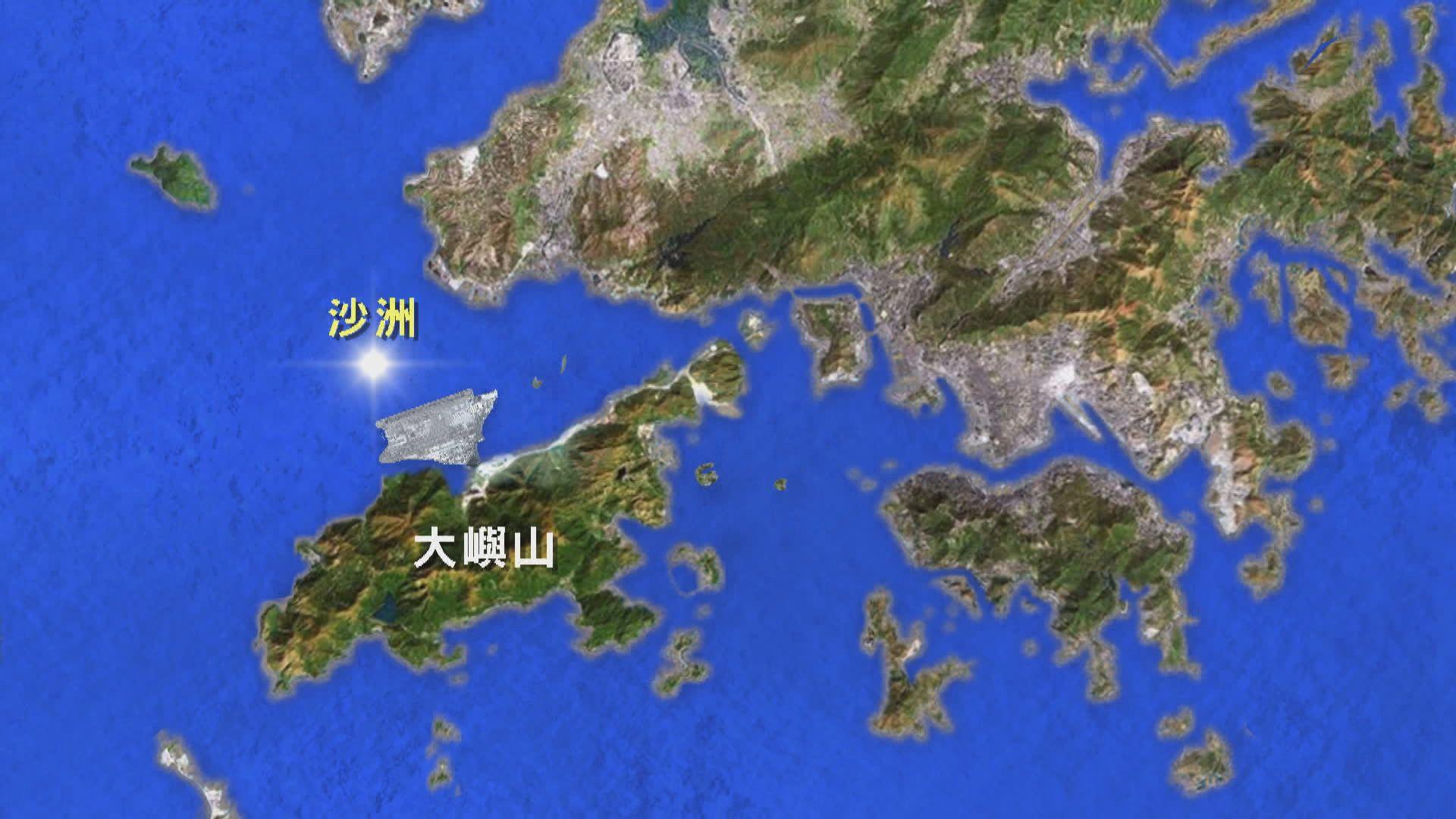 海關緝私艇在沙洲以南沉沒 五名海關人員墮海