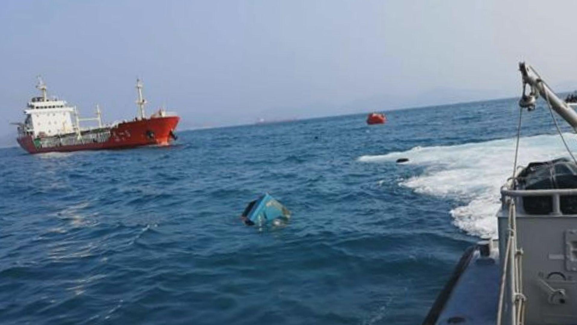 南丫島漁船沉沒 香港仔漁民夫婦屍體尋回