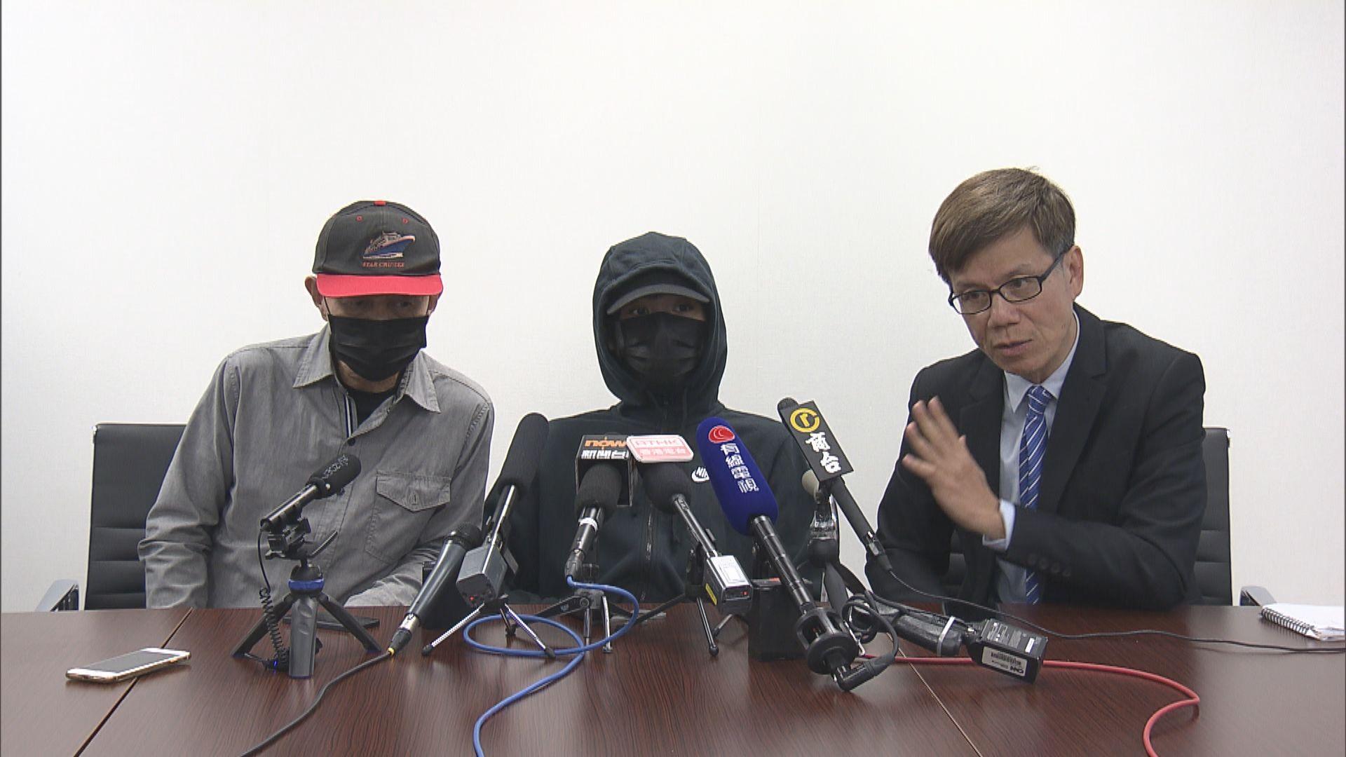 西灣河中槍青年:事發時無人作威脅警員行為