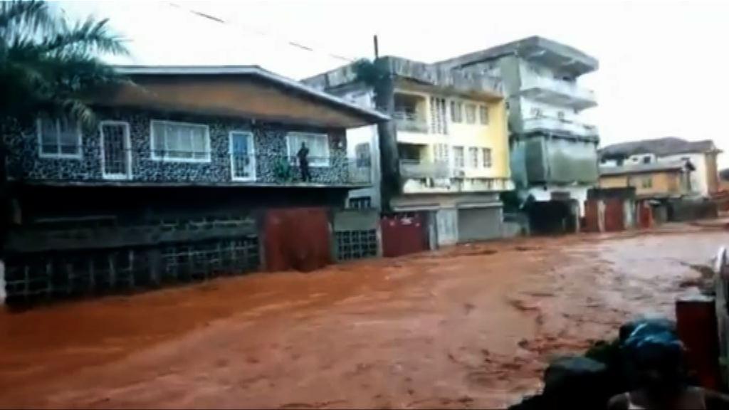 塞拉利昂洪水或致數百人死亡