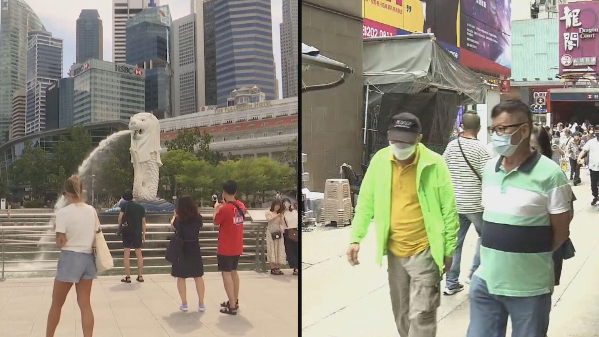 新加坡疫情升溫 旅遊事務署:情況許可會如期啟動旅遊氣泡