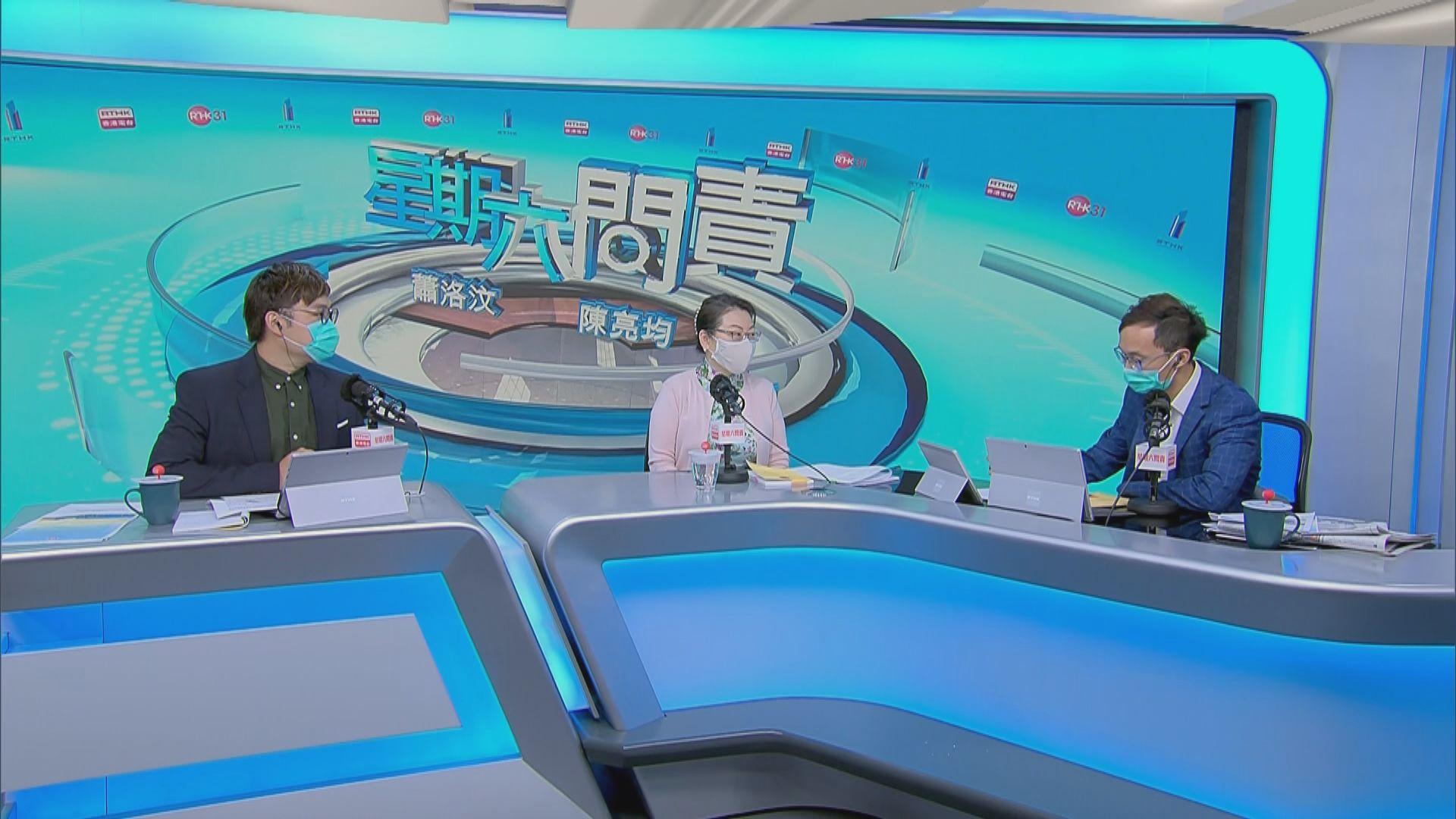 鄭若驊:中央就國家安全立法天公地道、合情合理合憲
