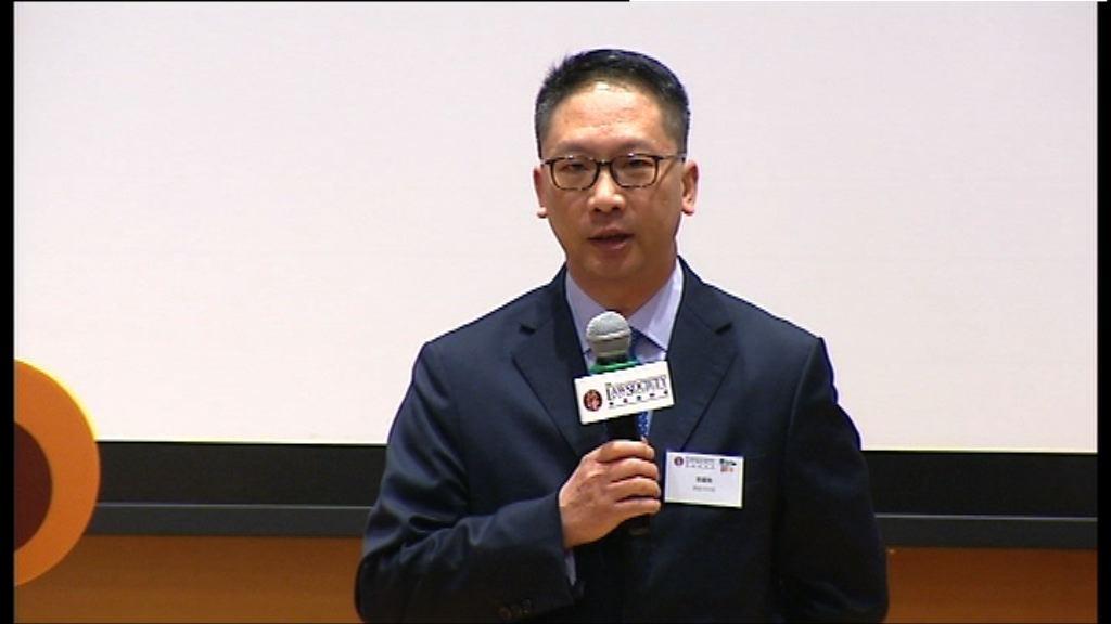袁國強:中央無參與覆核學生領袖刑期案件
