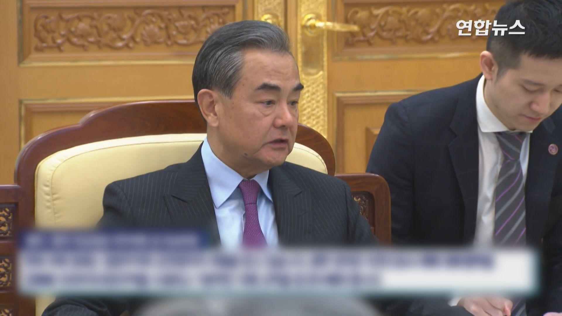文在寅晤王毅 籲繼續支持朝鮮半島無核化