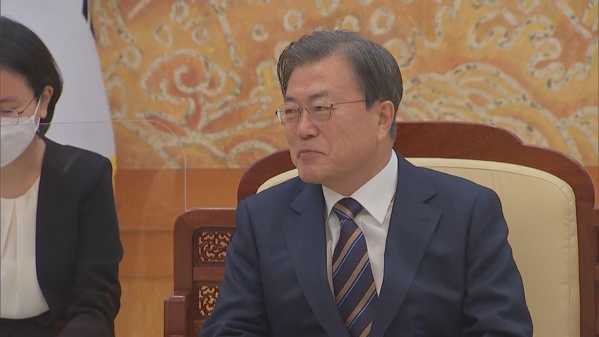 文在寅:續與中方等國推動朝鮮半島終戰及無核化