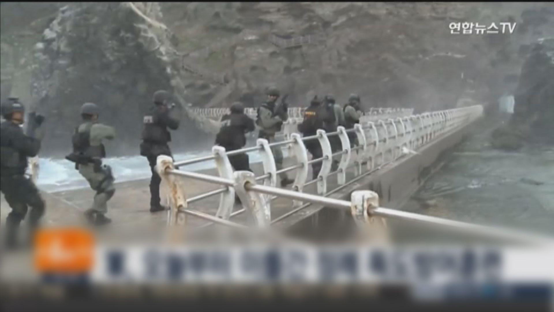 南韓舉行獨島防禦演習