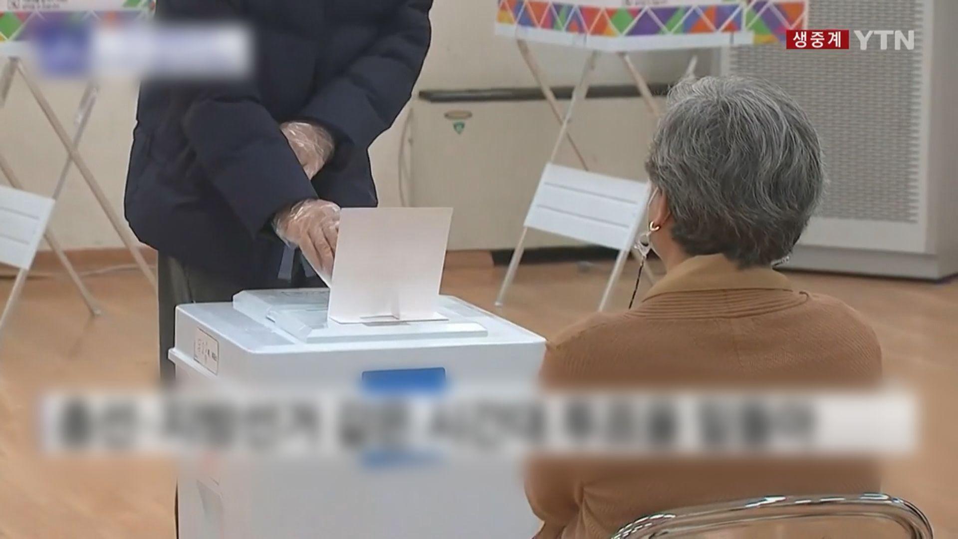 南韓選首爾和釜山市長 執政黨選情嚴峻