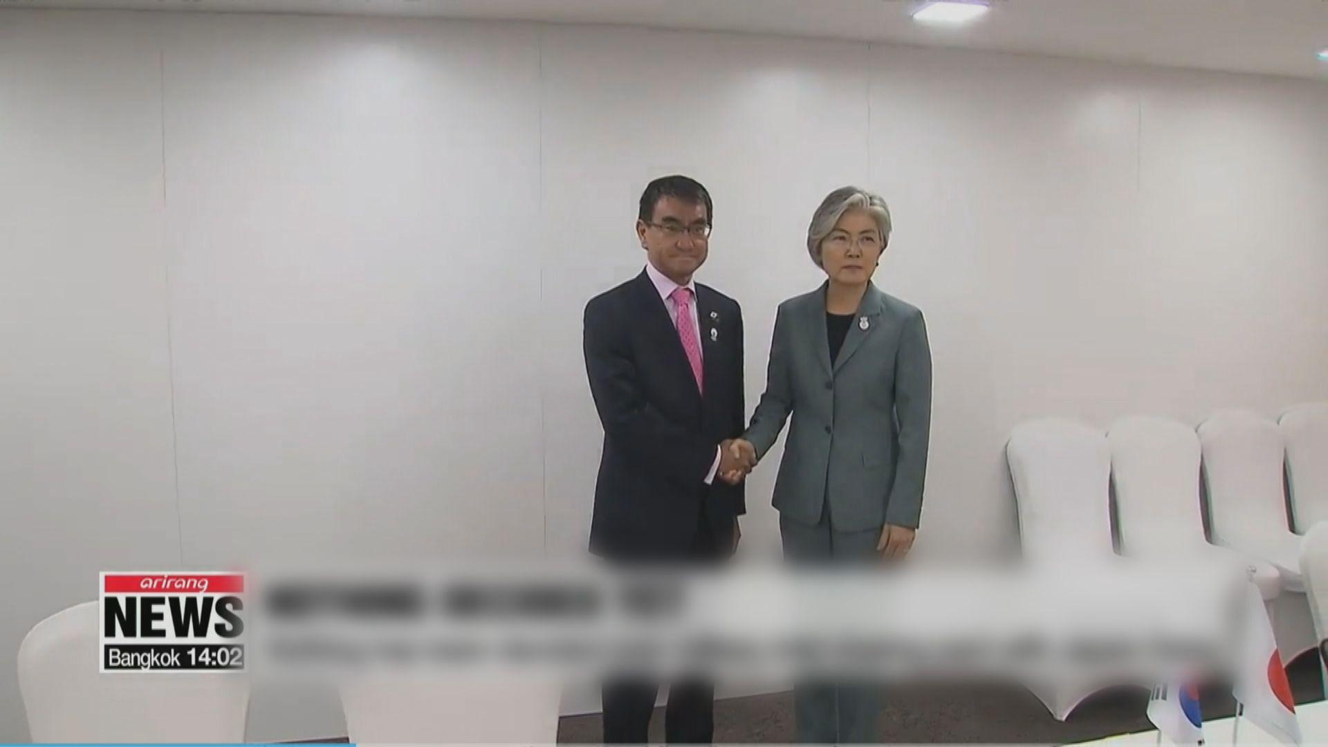 日韓外長周三會談料涉及貿易爭拗