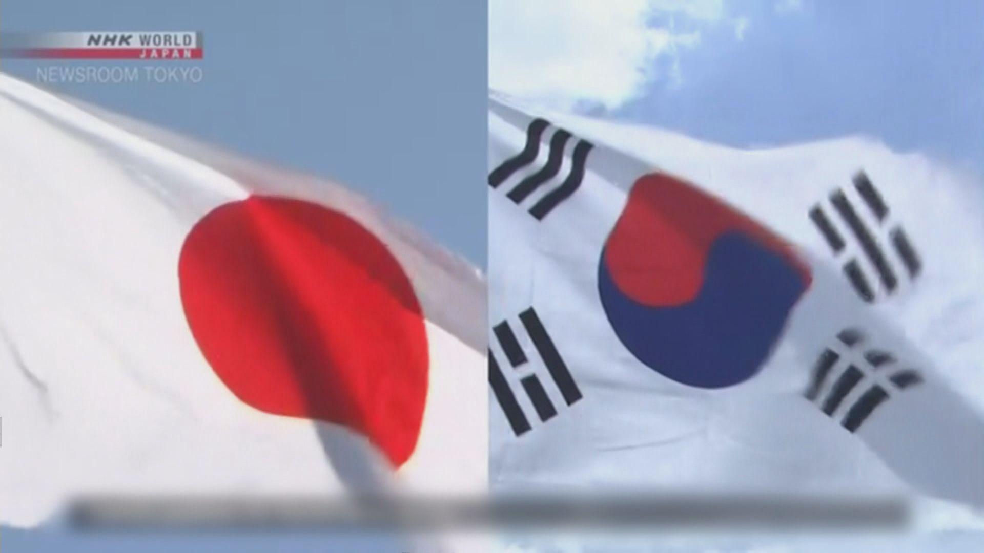 日本同意就貿易摩擦與南韓磋商