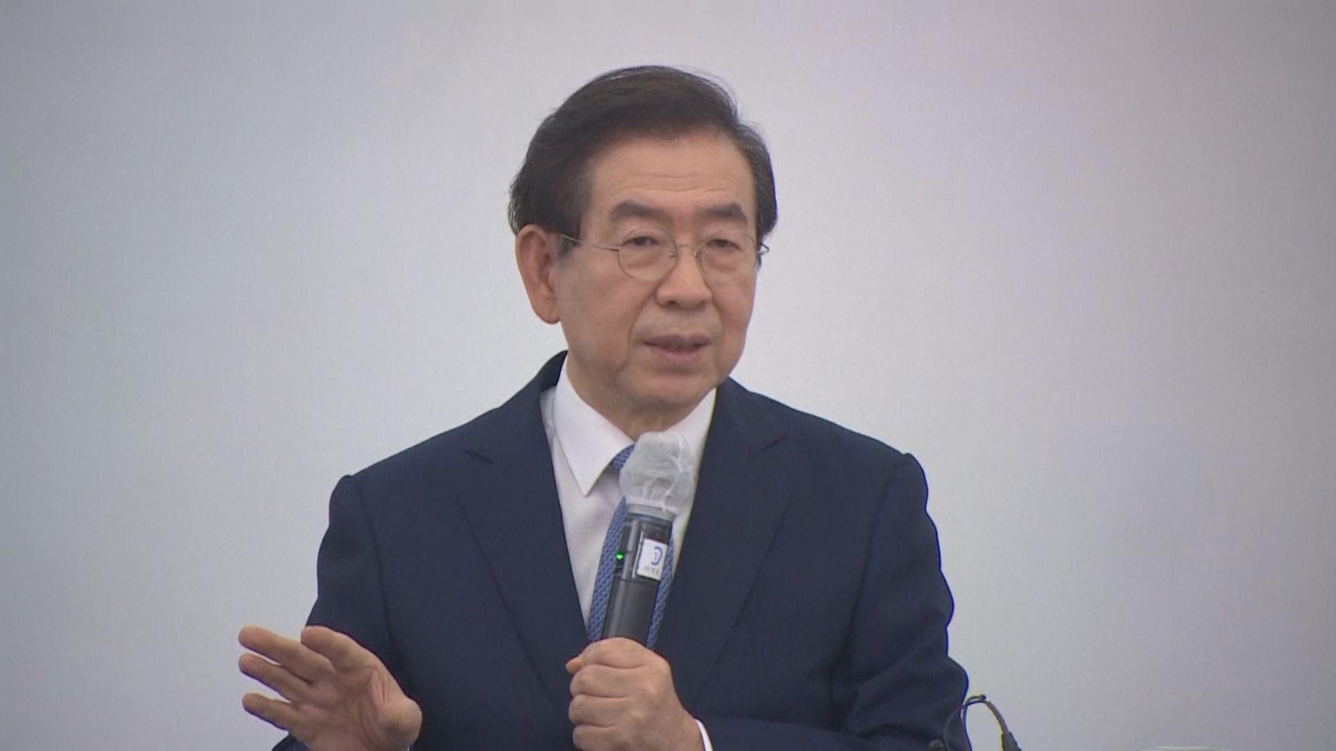 報道指朴元淳女秘書報案指控其性騷擾 警方調查是否屬實