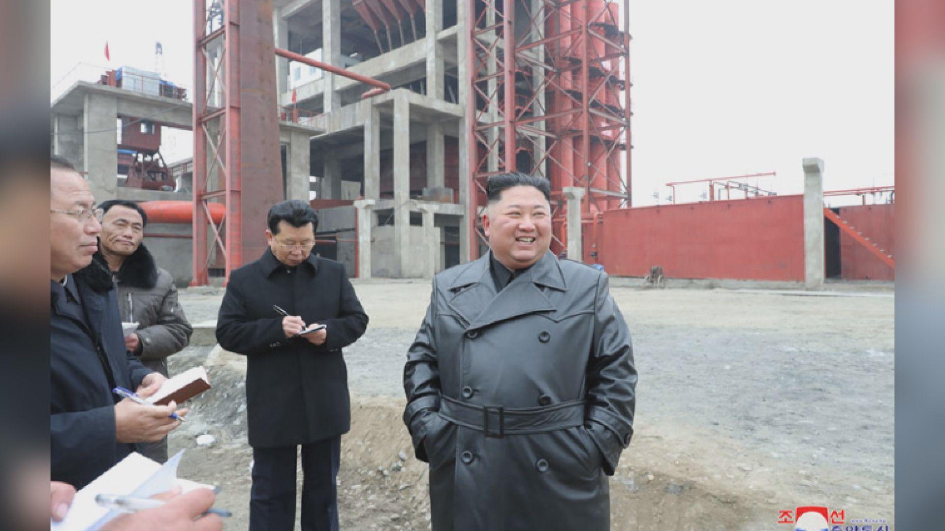 金正恩巡視國內廠房建 強調北韓要自力更生