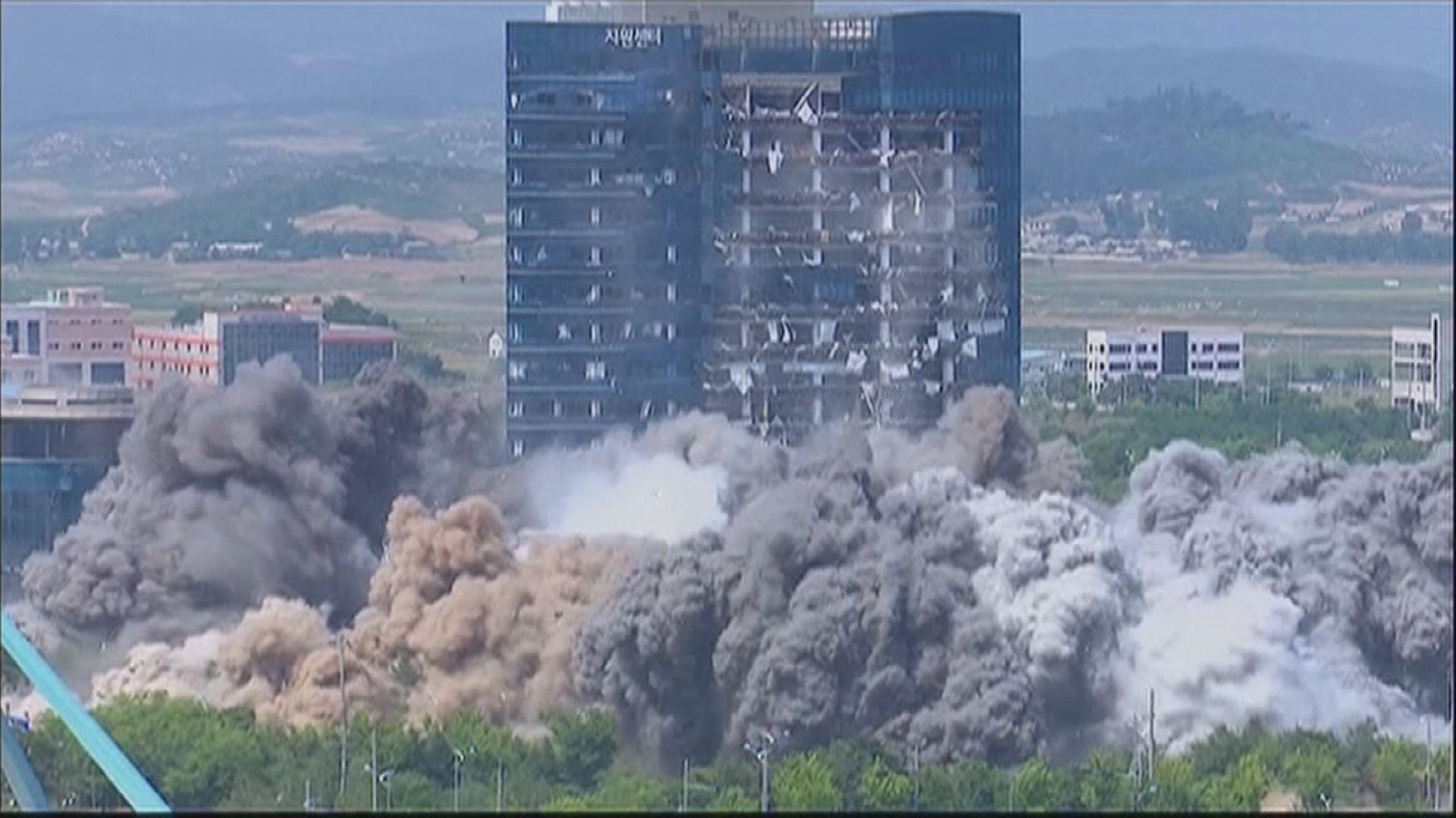 北韓警告炸毀韓朝聯絡辦公室只是第一步