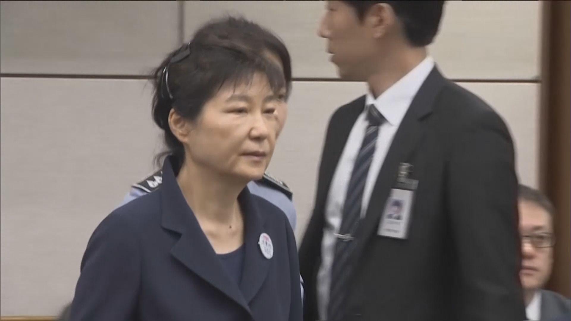 南韓前總統朴槿惠申請保外就醫
