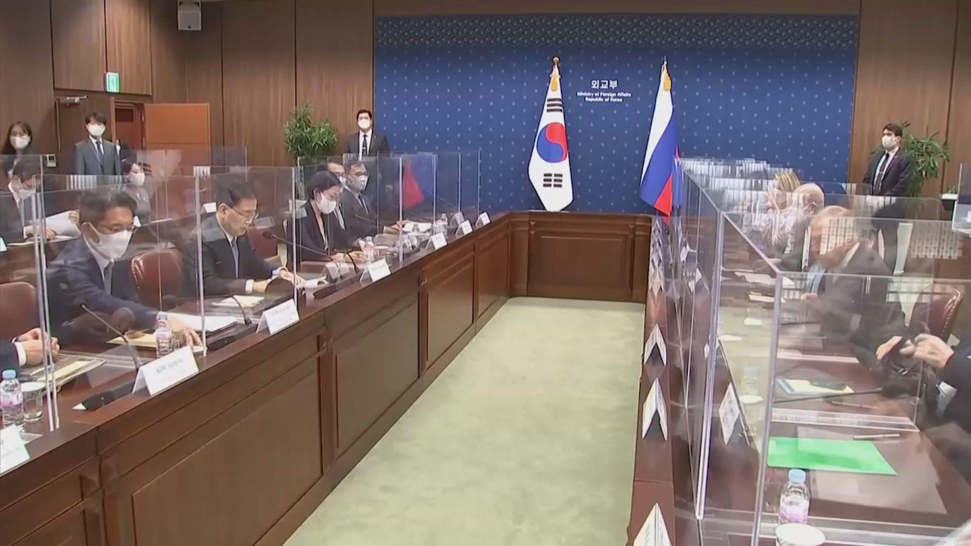 韓俄外長首爾會面 雙方強調合作夥伴關係